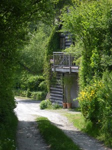 Arriving at the Gorfanc Hideaway