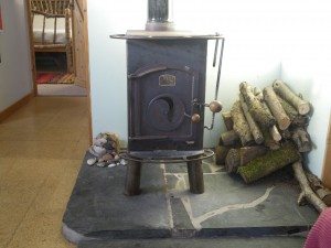 The Parp woodburner