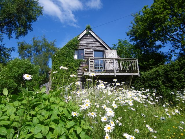 The Gorfanc Hideaway in summer