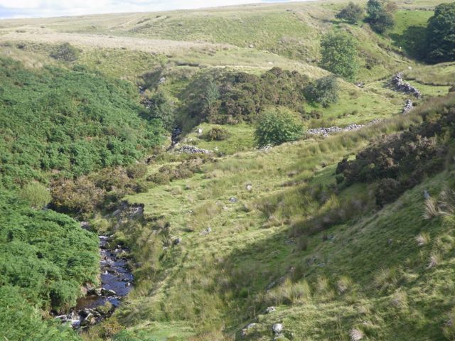 The Afon Cerniog valley