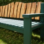 A bench made by Rob