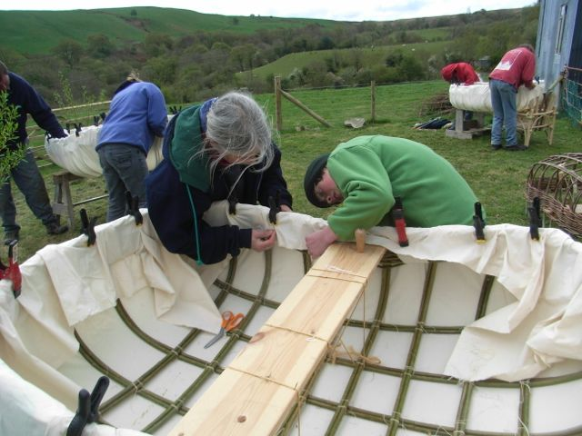Coracle making workshop