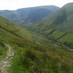 Descending Aran Fawddwy